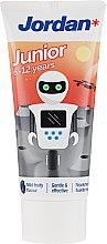 Parfémy, Parfumerie, kosmetika Zubní pasta pro děti ve věku 6-12 let, robot - Jordan Junior Toothpaste