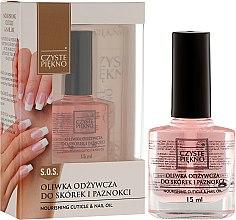 Parfémy, Parfumerie, kosmetika Olej na nehty a kůžičky - Czyste Piękno Nourising Cuticle & Nail Oil