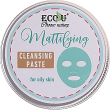 Parfémy, Parfumerie, kosmetika Čisticí pleťová pasta - ECO U Mattifying Cleansing Paste For Oily Skin
