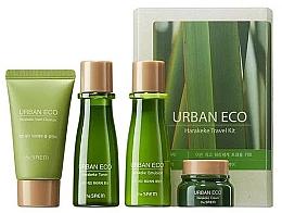 Parfémy, Parfumerie, kosmetika Cestovní pečující sada s extraktem z novozélandského lnu - The Saem Urban Eco Harakeke Travel 4 Kit (foam/25ml+ton/31ml+emul/31ml+cr/8ml)
