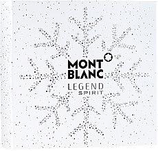 Parfémy, Parfumerie, kosmetika Montblanc Legend Spirit - Sada (edt/100 ml + ash/balm/100 ml + sh/gel/100 ml)