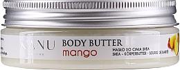Parfémy, Parfumerie, kosmetika Tělový olej Mango - Kanu Nature Mango Body Butter