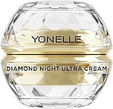 Parfémy, Parfumerie, kosmetika Noční pleťový krém - Yonelle Diamond Night Ultra Cream