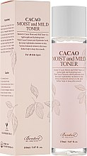 Parfémy, Parfumerie, kosmetika Toner na obličej s kakaovým olejem - Benton Cacao Moist and Mild Toner