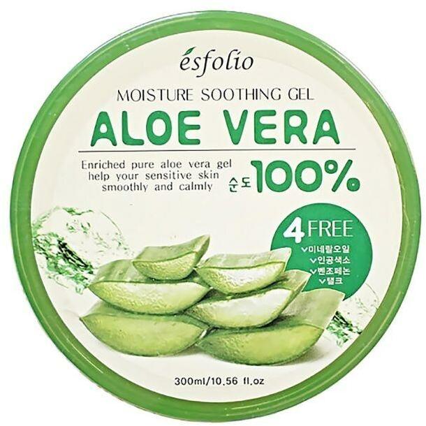 Hydratační gel s Aloe Vera - Esfolio Moisture Soothing Gel Aloe Vera 100% Purity