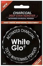 Parfémy, Parfumerie, kosmetika Bělící prášek na zuby - White Glo Activated Charcoal Teeth Polishing Powder