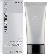 Parfémy, Parfumerie, kosmetika Gel po holení - Shiseido Men Energizing Formula Gel