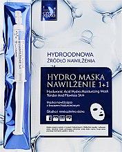 Parfémy, Parfumerie, kosmetika Maska na obličej se sérem - Czyste Piekno Hydro Mask Cloth Face Intensive Hydrating + Serum