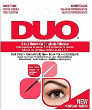 Parfémy, Parfumerie, kosmetika Lepidlo na Umělé řasy 2v 1 - Ardell Duo Adhesive 2in1 Lash Brush On Clear&Dark