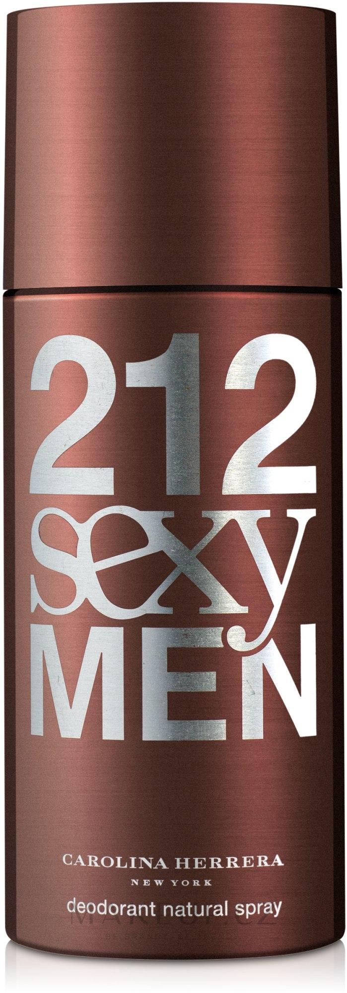 Carolina Herrera 212 Sexy Men - Deodorant — foto 150 ml