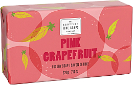 Parfémy, Parfumerie, kosmetika Mýdlo - Scottish Fine Soaps Pink Grapefruit Luxury Wrapped Soap