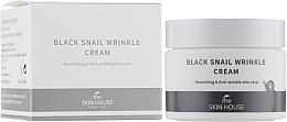 Parfémy, Parfumerie, kosmetika Vyživující krém s kolagenem a mucinem černého hlemýždě - The Skin House Black Snail Wrinkle Cream