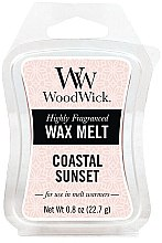 Parfémy, Parfumerie, kosmetika Aromatický vosk - WoodWick Wax Melt Coastal Sunset