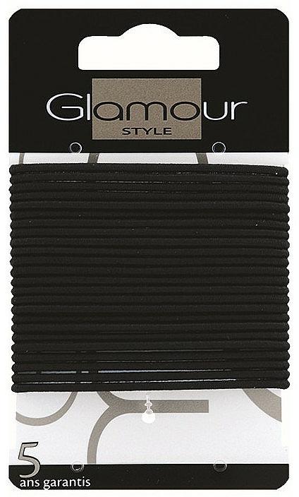 Gumičky do vlasů, 414933, černé - Glamour