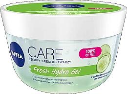 Parfémy, Parfumerie, kosmetika Hydratační pleťový gel s kyselinou hyaluronovou a okurkovým extraktem - Nivea Care Fresh Hydro Gel