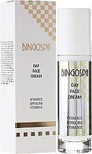 Parfémy, Parfumerie, kosmetika Denní krém na obličej s vitamínem C, spirulínou a vitamínem E - BingoSpa Day Fce Cream Vitamin C Spirulina Vitamin E