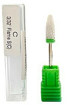 Parfémy, Parfumerie, kosmetika Keramická fréza, zelená - Deni Carte C 3/32 Flame S (C)