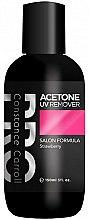 Parfémy, Parfumerie, kosmetika Odstraňovač laku na nehty - Constance Carroll Aceton UV Remover Strawberry
