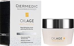 Parfémy, Parfumerie, kosmetika Denní krém s fytoestrogeny zpomalující stárnutí pleti 40-60+ - Dermedic Oilage Tri Oleum