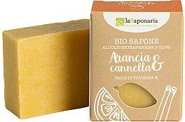 Parfémy, Parfumerie, kosmetika Mýdlo s extraktem pomeranče a skořice - La Saponaria Orange & Cinnamon Soap