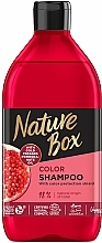 Parfémy, Parfumerie, kosmetika Šampon - Nature Box Pomegranate Oil Shampoo