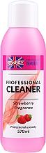 "Parfémy, Parfumerie, kosmetika Odmašťovač nehtů ""Jahoda"" - Ronney Professional Nail Cleaner Strawberry"