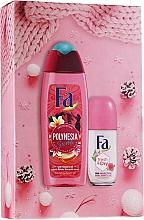 Parfémy, Parfumerie, kosmetika Sada - Fa Polinesia Secrets (sh/grl/250ml + deo/50ml)