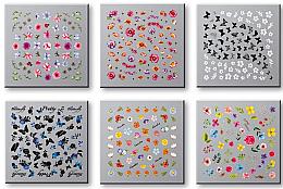 Parfémy, Parfumerie, kosmetika Nálepky na nehty, komplet 42751 - Top Choice Nail Decorations Stickers Set