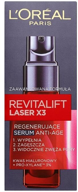Hluboce regenerační sérum - L'Oreal Paris Revitalift Laser X3