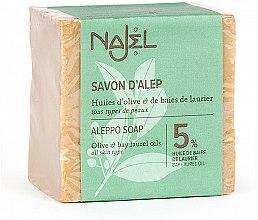 Parfémy, Parfumerie, kosmetika Mýdlo alepské s vavřínovým olejem 5% - Najel Aleppo Soap 5% Bay Laurel Oil