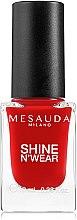 Parfémy, Parfumerie, kosmetika Lak na nehty - Mesauda Milano Shine N`Wear Nail Polish