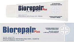 Parfémy, Parfumerie, kosmetika Bělící zubní pasta - BioRepair Plus PRO White