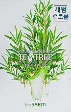 Parfémy, Parfumerie, kosmetika Látková maska s extraktem z čajového dřeva - The Saem Natural Tea Tree Mask Sheet