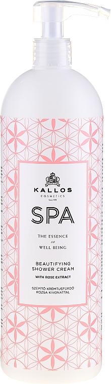 Hydratační sprchový gel s extraktem růže - Kallos Cosmetics Spa Beautifying Shower Cream