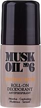 Parfémy, Parfumerie, kosmetika Deodorant roll-on - Gosh Musk Oil No.6 Roll-On Deodorant