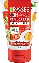 Parfémy, Parfumerie, kosmetika Krém na ruce Mrkev a rajče - Nature of Agiva Roses Vege Salad Moisturizing Hand Cream