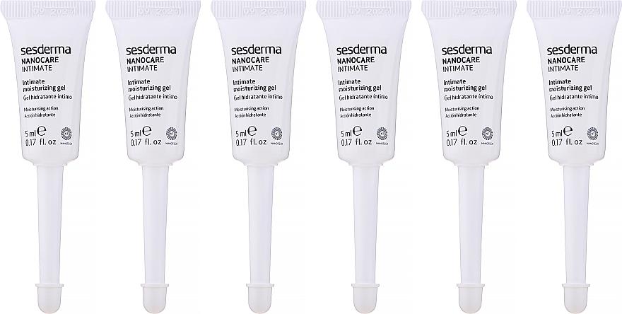 Gel pro intimní části těla - SesDerma Laboratories Nanocare Intimate Moisturizing gel — foto N2
