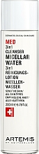 Parfémy, Parfumerie, kosmetika Micelární voda - Artemis of Switzerland Med 3in1 Cleanser Micellar Water