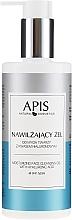 Parfémy, Parfumerie, kosmetika Hydratační gel na mytí s kyselinou hyaluronovou - APIS Professional Moisturising Cleansing Gel