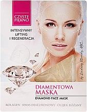 """Parfémy, Parfumerie, kosmetika Maska na obličej """"Diamantová"""" - Czyste Piekno Diamond Face Mask"""
