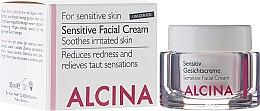 Parfémy, Parfumerie, kosmetika Krém pro citlivou plet' obličeje - Alcina S Sensitive Facial Cream