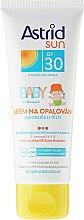 Parfémy, Parfumerie, kosmetika Dětský opalovací krém - Astrid Sun Baby Cream SPF 30