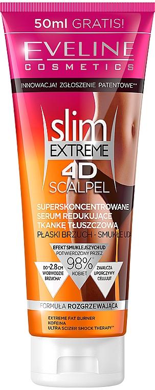 "Anticelulitidové sérum ""Superkoncentrát"" - Eveline Cosmetics Slim Extreme 4D Scalpel"