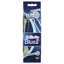 Parfémy, Parfumerie, kosmetika Sada jednorázových holicích strojků, 10ks - Gillette Blue II Chromium