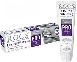 Parfémy, Parfumerie, kosmetika Zubní pasta pro elektrické kartáčky - R.O.C.S. Pro Electro & Whitening Mild Mint