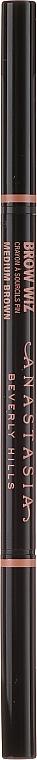 Sada - Anastasia Beverly Hills Best Brows Ever Medium Brown (pencil/0.08g + gel/2.5ml + gel/2.2g) — foto N6