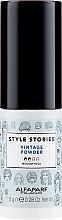 Parfémy, Parfumerie, kosmetika Pudr pro objem vlasů - Alfaparf Style Stories Vintage Powder Medium Hold