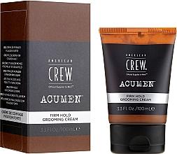 Parfémy, Parfumerie, kosmetika Krém na styling vlasů silná fixace - American Crew Acumen Firm Hold Grooming Cream