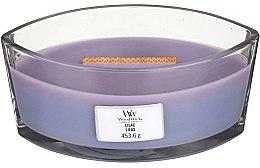 Parfémy, Parfumerie, kosmetika Aromatická svíčka ve sklenici - Woodwick Hearthwick Flame Ellipse Candle Lilac