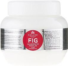 Parfémy, Parfumerie, kosmetika Vlasová maska s komplexem vitaminů - Kallos Cosmetics FIG Booster Hair Mask With Fig Extract
